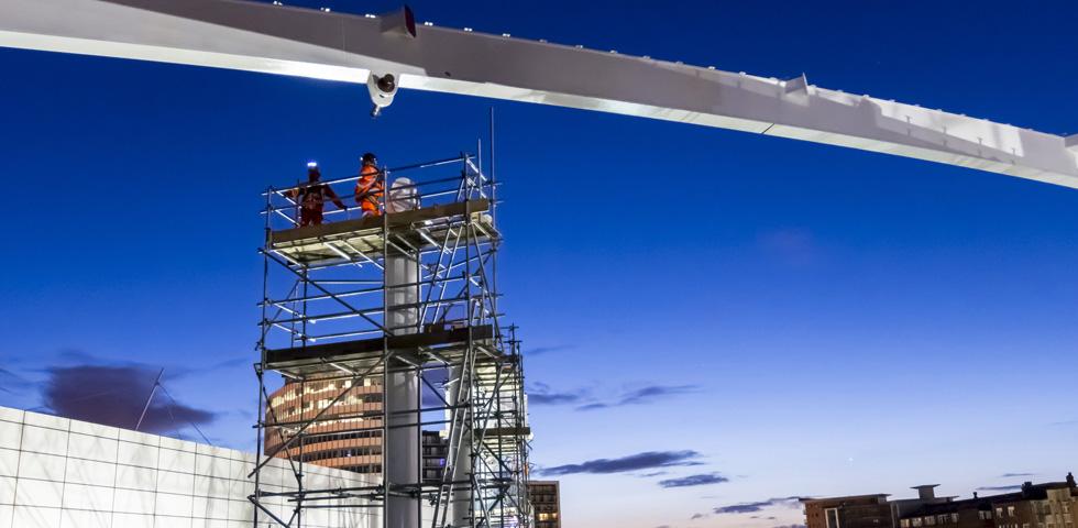 Barnshaws bietet an gebogene Profile für den Bau des Victoria Hauptbahnhofs in Manchester first image