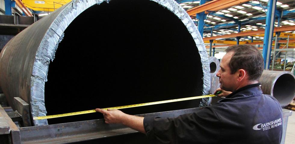 Barnshaws biegt das größte Rohr second image