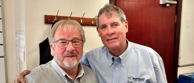 Russell Barnshaw & Trevor Steward