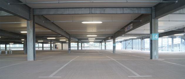 M&S car park